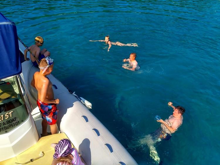 day on sea dalmatia