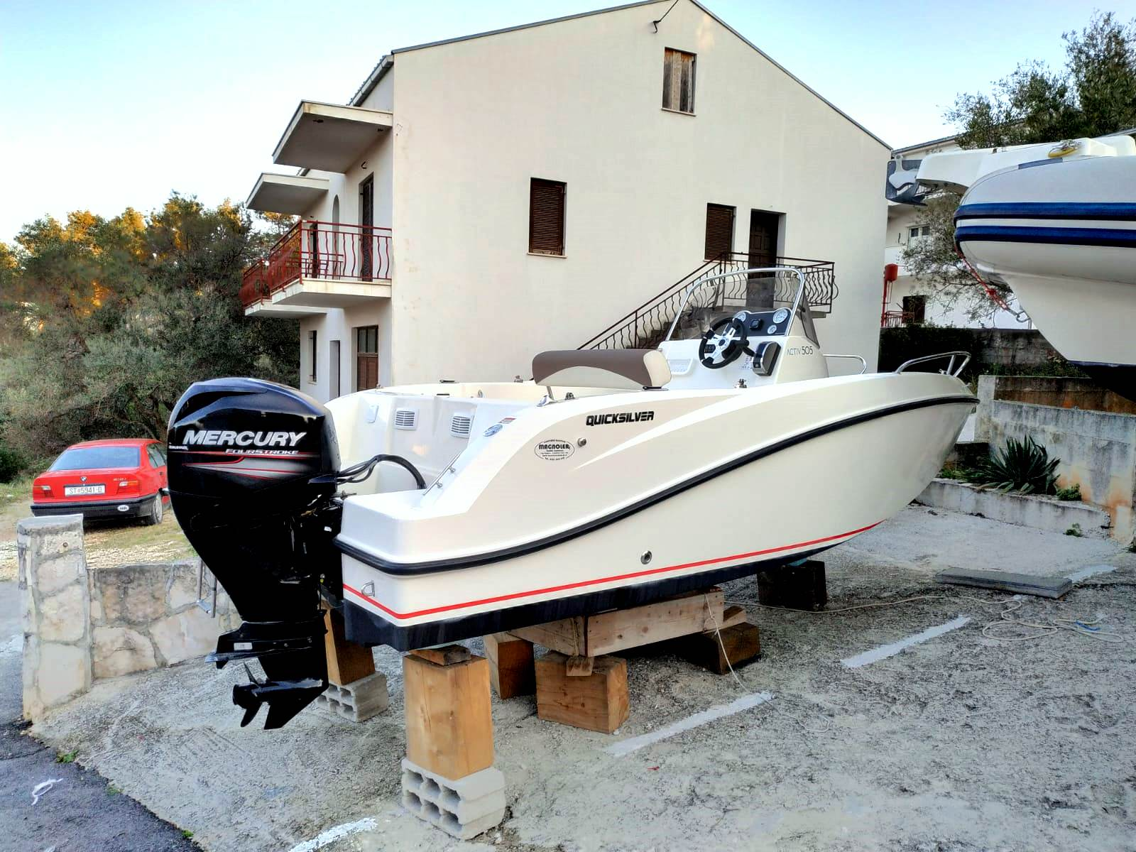 Quicksilver Boat Rent Trogir Nakiros Charter
