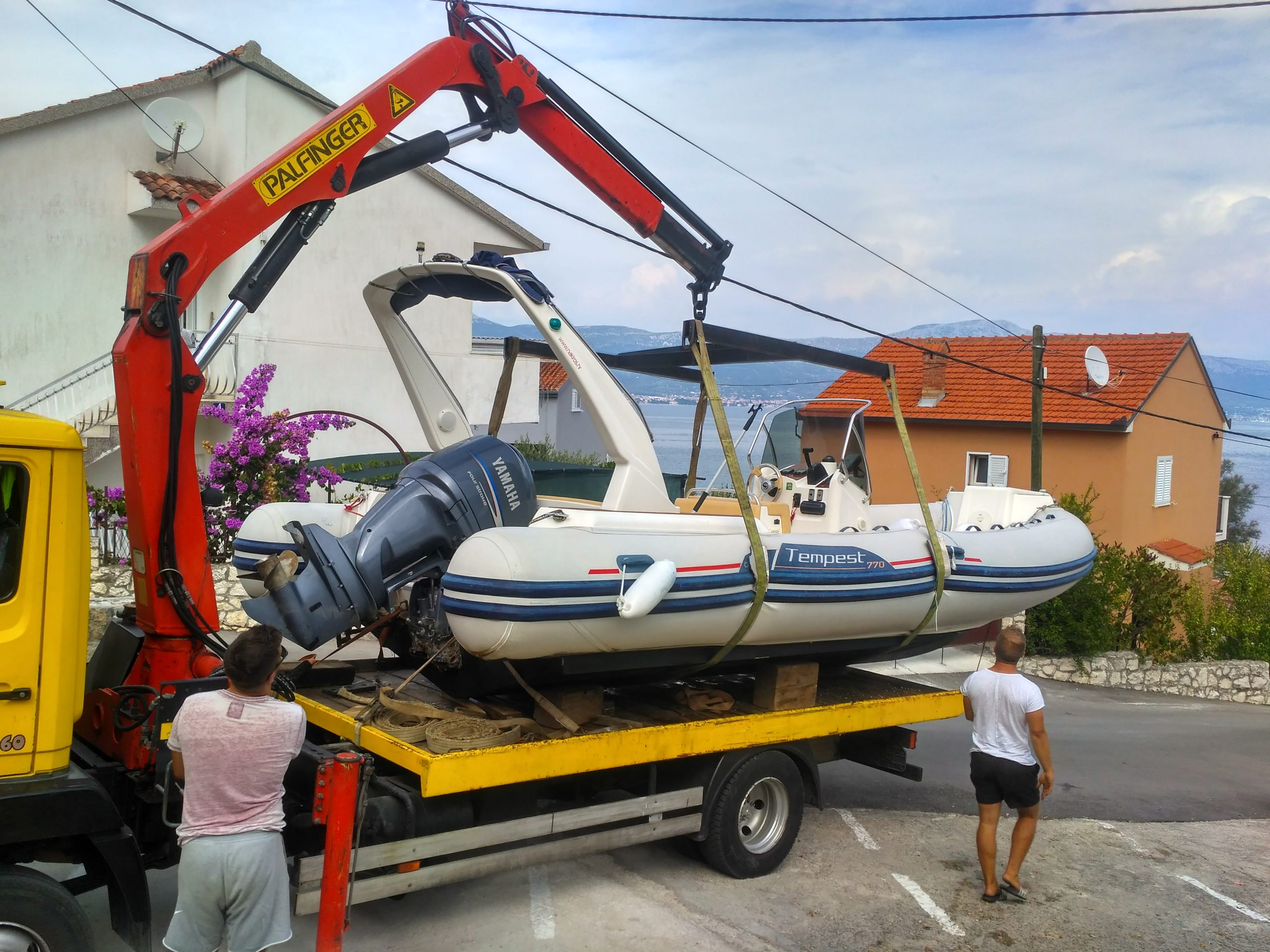 Rib Boat Rental Service Trogir Ciovo